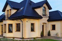 Dom w rukoli wybudowany wg projektu Biura Projektów Domów ARCHON+