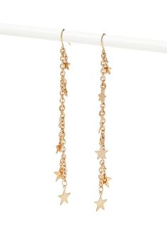 Chained Star Drop Earrings Jewellery 1000146175 Forever 21 Eu English