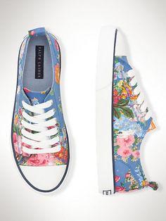 Harbour Low Sneaker - Junior 3.5-7  Shoes - RalphLauren.com