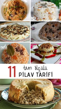 Besides the main dish for your Iftar dinner tables, 11 different rice recipes and pictures, all tried, with tips and full measure, are in Yummy Recipes! Yummy Recipes, Rice Recipes, Soup Recipes, Dessert Recipes, Yummy Food, Iftar, Complete Recipe, Turkish Recipes, Different Recipes