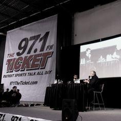 Jamie & Wojo at 97.1 Sportsfest 2012
