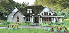 Plan 16862WG: Cozy 3 Bed Cottage With Bonus