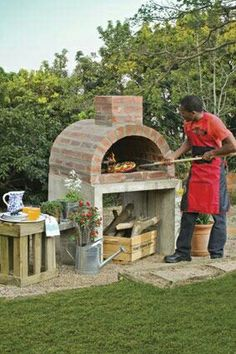 A little pizza oven maybe