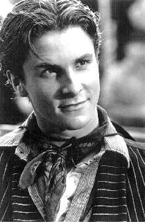 Christian Bale as Jack 'Cowboy' Kelly in Newsies