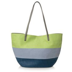 Work colour block stripes into your accessories collection and head to the beach or pool in style with this straw bag in lime, light blue and dark blue with grey handles. Pair with our Summer Stripe Straw Pouch. Dark Blue, Light Blue, Summer Stripes, Color Blocking, Straw Bag, Purses And Bags, Pouch, Pairs, Handbags