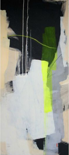Heather Day, recent MICA grad and a young emerging painter with fresh ideas and a beautiful palette