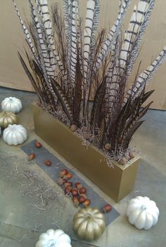 My Thanksgiving Tablescape centerpiece I made @Russell Middleton Imagery by @Lynda Quintero-Davids (NYCLQ) #THANKSGIVING #TABLESCAPE