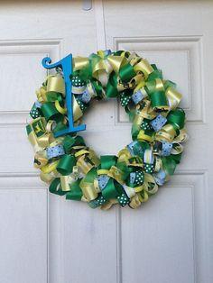 John Deere Birthday Wreath by AEinspirations on Etsy, $40.00
