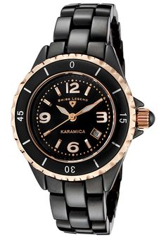 Price:$239.99 #watches SWISS LEGEND 10049-BKBRA, Designed to always tell time with elegance, this Swiss Legend timepiece is a fashionable addition to any wardrobe.