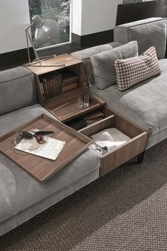 100 Modern Sectional Sofas and Couch That You Will Love Diy Furniture Hacks, Sofa Furniture, Luxury Furniture, Furniture Design, Barbie Furniture, Garden Furniture, Cheap Furniture, Discount Furniture, Furniture Dolly