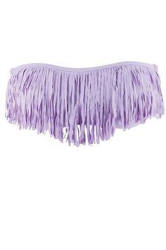 I want this Lavender Fringe Bandeau for summer :)