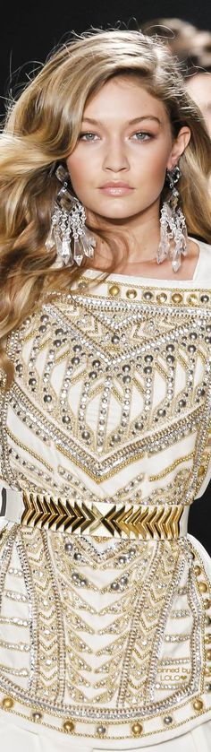 Gigi Hadid for Balmain x H&M Collaboration | LOLO❤︎