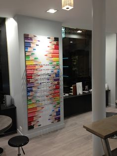 Optique | Showroom JCDA Agencement du magasin d'optique Ariche (78) - espace enfants