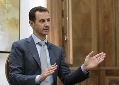 President Bashar al-Assad rejected the creation of safe zones for refugees and displaced people in Syria, an idea supported by U. President Donald Trump, according to a transcript from an interview with Yahoo News released on Friday. Aleppo, Interview, Israel, Syria Crisis, Donald Trump, Bashar Assad, Europe 1, Nikki Haley, Chemical Weapon