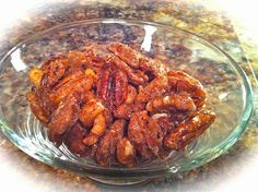 everyday donna: Cinnamon Sugared Nuts - Oh My!