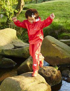Sei neugierig! Kids Up, Rain Gear, Exploring, Latex, Raincoat, Style, Autos, Welly Boots