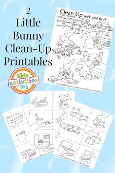 {Clean-Up Time} Free Kids Printables - Kids Activities Blog #cleaning #organisation #nannylife
