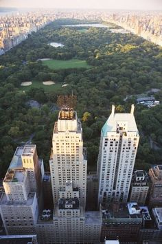 Park Life- I stayed a month in that middle building -JW Marriott loved the locations and runs through Central Park