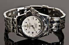 Catawiki online auction house: Breitling Callisto Chronometer Pilot band MOP…