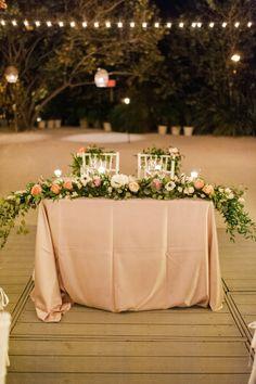 wedding centerpiece idea; photo: Julie Cate Photography