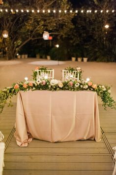 133 Best Sweetheart Tables Images Grooms Table Sweetheart Table
