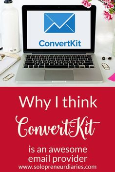ConvertKit is an awesome email marketing provider for bloggers. See why I chose them over MailChimp and AWeber.