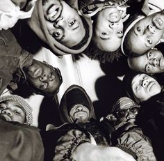 Wu Roll Together As One. 1992.    Photo : Chi Modu