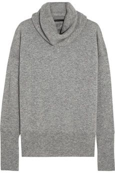 The Row Cecilia cashmere and silk-blend turtleneck sweater   NET-A-PORTER