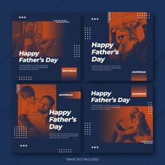 Social Media Branding, Social Media Banner, Social Media Template, Social Media Design, Social Media Graphics, Insta Layout, Instagram Design, Instagram Posts, Fathers Day Banner