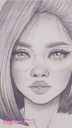 DIY craft hobby ideas for beginners? Sketch & Drawings Hobbies Ideas Dollar Stores,Projects,Make - Tattoo MAG Girl Drawing Sketches, Girly Drawings, Art Drawings Sketches Simple, Pencil Art Drawings, Easy Drawings, Cute Drawings Of People, Tumblr Girl Drawing, Sketch Art, Drawing Girls