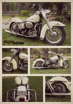 Vintage 1968 Harley-Davidson® FLH Electra Glide