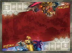 =NEW /& Sealed= FFG Keyforge Raiding Knight Playmat