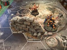 Shadespire terrain Warhammer Fantasy, Warhammer 40k, Sculpture Art, Sculptures, Fantasy Miniatures, Miniture Things, Dungeons And Dragons, Scenery, Projects To Try