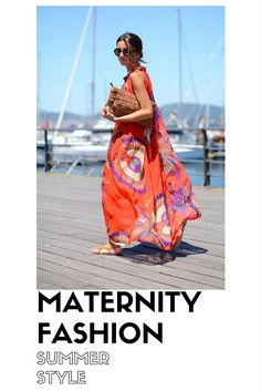 Pregnancy style blog. Maternity fashion summer style.