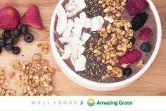 The Ultimate Smoothie Bowl: Well + Good