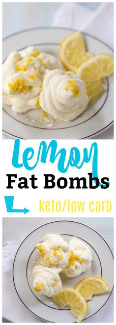 Lemon Fat Bombs