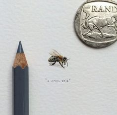 Amazing miniature painting by Lorraine Loots