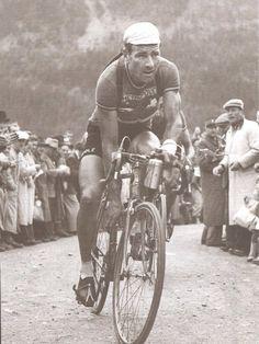 Tour de France 1949. 19-07-1949, 17^Tappa. Briançon - Aosta. Piccolo San Bernardo. Lucien Teisseire (1919-2007)