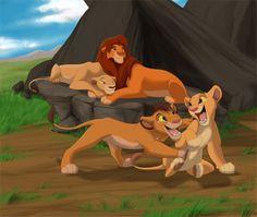 Lion King 2   happy family - The Lion King 2:Simba's Pride Photo (32154536) - Fanpop ...