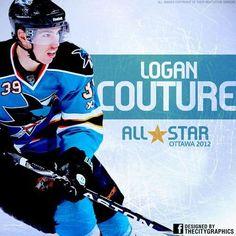 San Jose Sharks - Logan Couture
