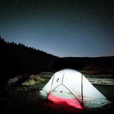 Spend a night under the stars! Camping out at Port Renfrew, B.C. Photo by Flood (instagram) - Pin curated by @Poppytalk for @explorecanada