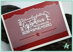Stampin Up, Diy Crafts, Writing, Photo And Video, Blog, Cards, Winter Christmas, Cash Gifts, Xmas Cards