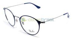 Desde o icônico Aviador, a marca Ray-Ban é referência no mercado de óculos, seus modelos ditam tendência e são sempre a escolha de quem não quer errar no visual. Usar óculos de grau não é motivo para abrir mão de todo o estilo da Ray-Ban, compre já sua armação Ray-Ban RB 6378!  http://www.oticasbrasil.com.br/ray-ban-rb-6378-2906-oculos-de-grau