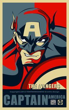 Obama Hero Series | marenkramer
