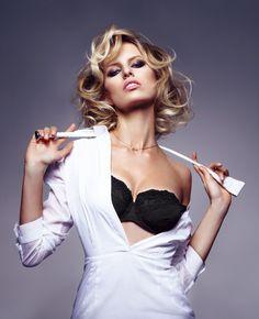 the perfect model: karolina kurkova by dusan reljin for gq germany april 2012