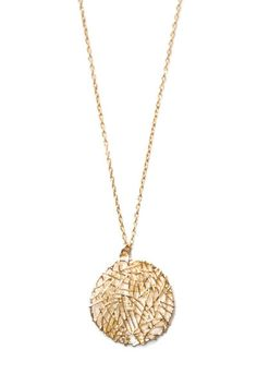 Hovey Lee Fern Acres Necklace $48 www.begoodclothes.com #ecofriendly #sanfrancisco #sustainable  A perfect gift for a dress lover!