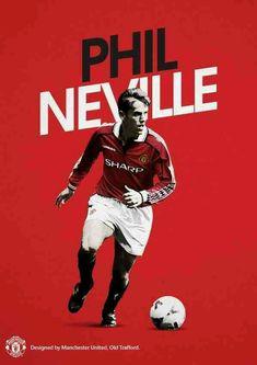 Phil Neville of Man Utd wallpaper.