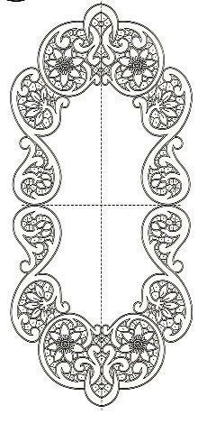 This Pin was discovered by Inn Cutwork Embroidery, Embroidery Patterns, Machine Embroidery, Stencil Patterns, Craft Patterns, Romanian Lace, Lace Painting, Crochet Motifs, Parchment Craft