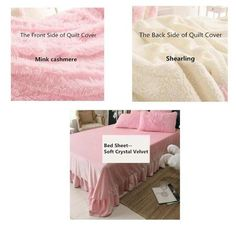 Item ID: Description: Specification: Material: Mink Cashmere;Crystal Velvet Color: 8 Size: Full size: (suitable for bed) 1 piece D Christmas Decals, Soft Leather Handbags, Bedroom Themes, Bedroom Decor, Bedroom Bed, Bedroom Ideas, Bedrooms, Magic Hair, Hair Toppers
