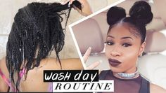 Natural Hair ➟ Best Damn WASH DAY ROUTINE! (start to finish) [Video]  Read the article here - http://www.blackhairinformation.com/video-gallery/natural-hair-%e2%9e%9f-best-damn-wash-day-routine-start-finish-video/